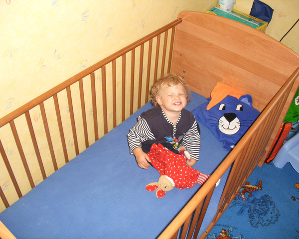 Cover for crib mattress, baby or children bed