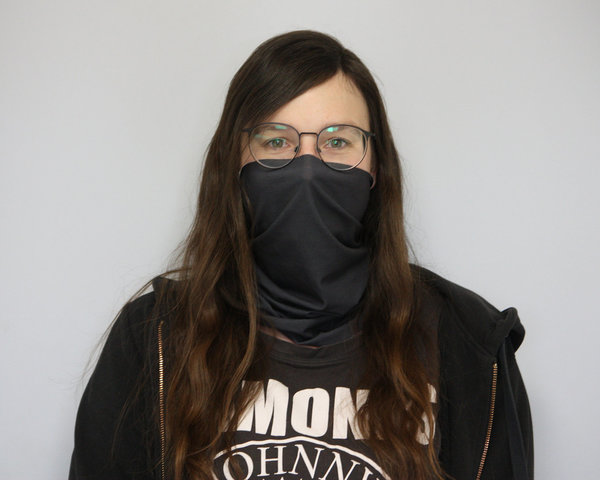 Microfiber mouth and nose guard scarf (washable)